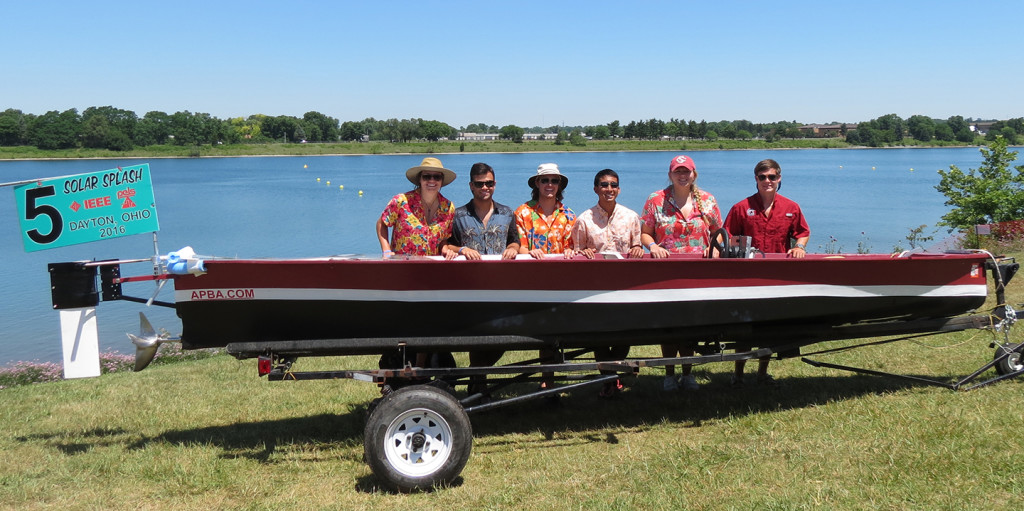 USC Solar Boat Design Team