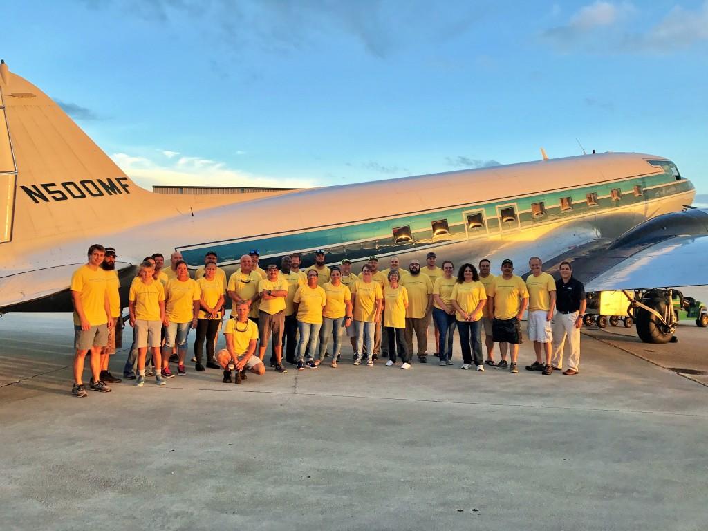 Haiti group plane pic