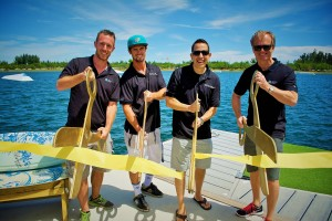 Ryan Malone, Jeff Trudeau, Sean Marrero and Bill Yeargin Ribbon Cutting at MWC