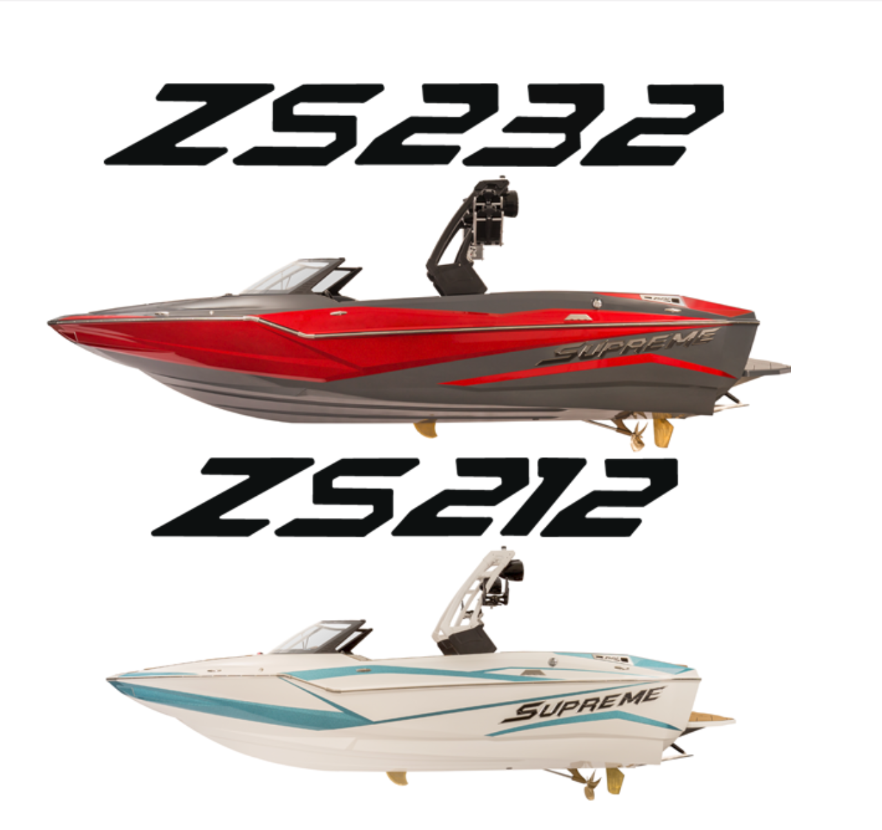 INTRODUCING THE 2019 SUPREME ZS SERIES HIGH PERFORMANCE WAKE SURFING